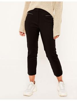 Crop Zip Pant by Glassons
