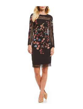 Delia Floral Print Dress by Antonio Melani