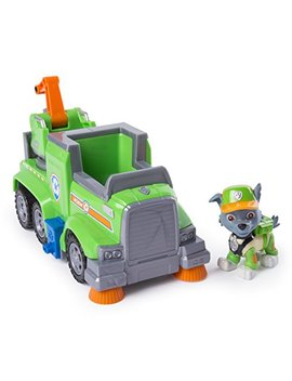 Paw Patrol Rocky's Ultimate Rescue Recycling Truck With Moving Crane And Flip Open Ramp by Paw Patrol