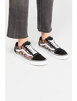 Old Skool Lux Floral Trainer by Free People