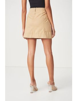 Side Pocket Mini Skirt by Cotton On
