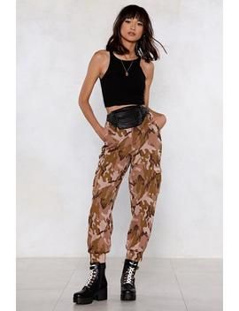 Camo Cargo Joggers by Nasty Gal