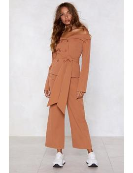 Take The High Road Wide Leg Pants by Nasty Gal
