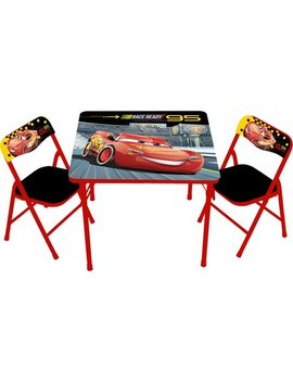 Disney Cars 3 Erasable Activity Table Set by Disney Cars