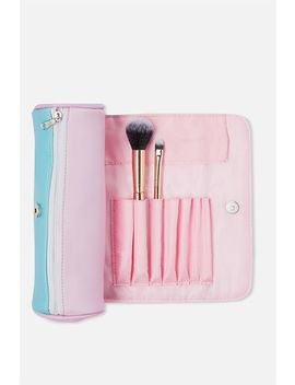 Roll Up Cosmetic Bag by Cotton On