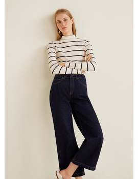 Culotte Relaxed Fit Jeans by Mango