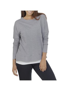 Women's Essentials French Terry Sweatshirt by Fruit Of The Loom