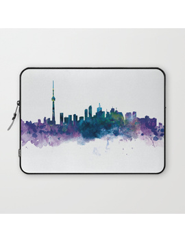 Toronto Skyline Laptop Sleeve by