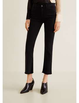 Trumpet Flare Jeans by Mango