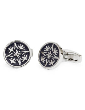 Simon Carter For John Lewis Archive Cummersdale Cufflinks, Navy by Simon Carter