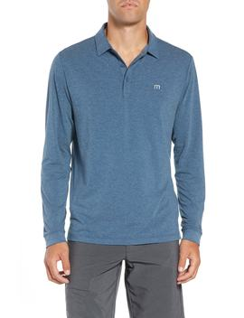 Backup Plan Regular Fit Polo by Travis Mathew