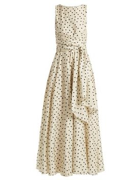 Polka Dot Silk Dress by Diane Von Furstenberg