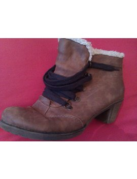 Rieker Leather Winter Shoes Vintage Winter Boots by Etsy