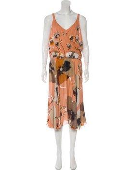 Gucci Silk Midi Dress by Gucci