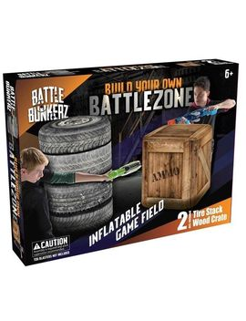Battle Bunkerz 2 Pack Inflatable Set by Nerf