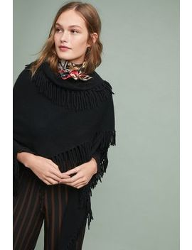 Fringed Triangle Wrap by Captiva Cashmere