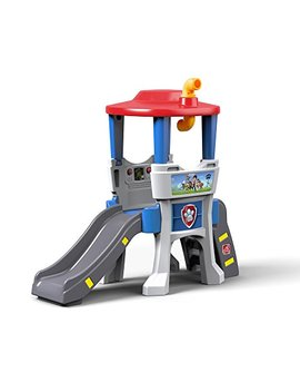 Step2 Paw Patrol Lookout Climber Slide Playset by Step2