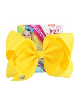 Jojo Solid Color 8 Inch Large Hair Bow Ribbed Polyester Bow Hairpin Children Hairpin Hair Accessories by Ali Express