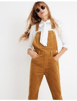 Straight Leg Overalls: Corduroy Edition by Madewell