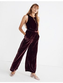 Velvet Twist Front Jumpsuit by Madewell