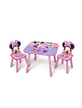 Delta Children Kids Table And Chair Set, Disney Minnie Mouse by Delta Children
