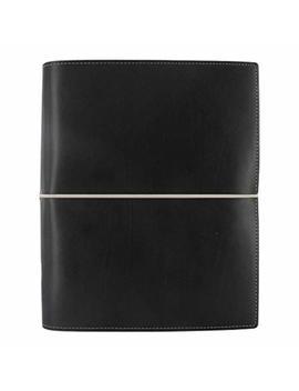 Filofax 2019 A5 Domino Organizer, Black, Paper Size 8.25 X 5.75 Inches (C027868 19) by Filofax