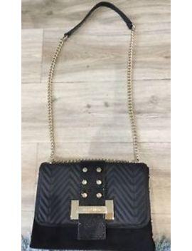 Ladies Black Handbag Across Body River Island by Ebay Seller