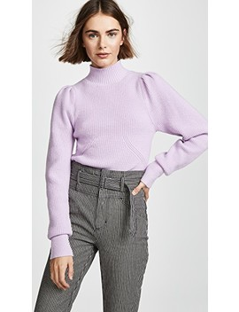 Puff Sleeve Sweater by Astr The Label
