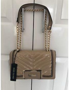 River Island Bag Cross Over Body Chain Bag Beige by Ebay Seller