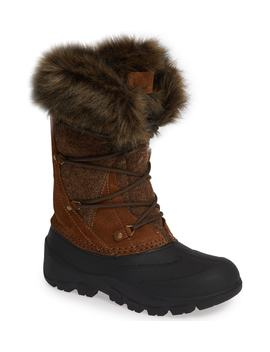 Ice Cougar Waterproof Knee High Winter Boot With Faux Fur Trim by Woolrich