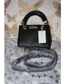 Brand New Carvela Kurt Geiger Black Micro Across Body Women's Tote Bag Rrp £55 by Ebay Seller
