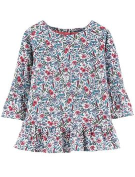 Bell Sleeve Floral Top by Oshkosh