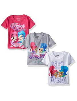 Shimmer And Shine Girls' Value Pack T Shirt by Nickelodeon
