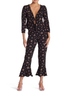 El Paso Floral Patterned 2 Piece Set by Free People