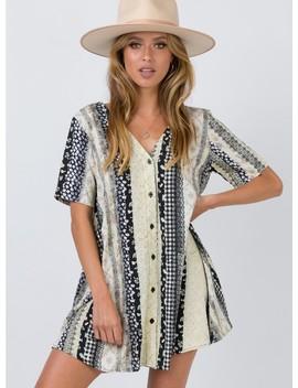Motel Crosena Dress Grunge Lace by Motel