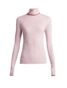 Ribbed Knit Wool Sweater by Acne Studios