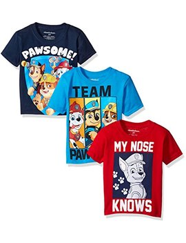 Paw Patrol Boys' Value Pack T Shirt by Nickelodeon