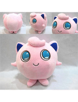 "6"" Anime Pokemon Pocket Monster Jigglypuff Plush Toy Stuffed Doll Cosplay Gift by Unbranded"
