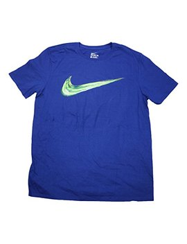 Nike Men's Light Up Your Logo Graphic Crew Neck T Shirt 739364 455 by Nike