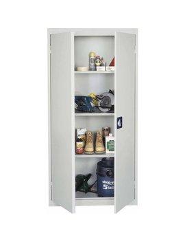 Sandusky Welded Storage Cabinet, Gray by Edsal