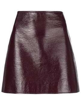Courrègespatent Mini Skirthome Women Courrèges Clothing A Line Skirts by Courrèges