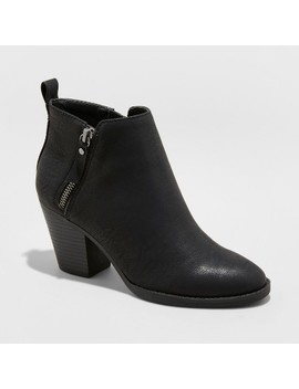 Women's Jameson Double Zipper Bootie   Universal Thread™ by Universal Thread™