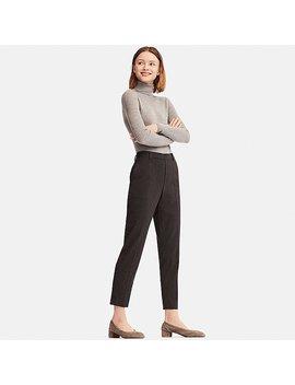 Pantalon Ezy Flanelle Longueur 7/8Ème Femme by Uniqlo