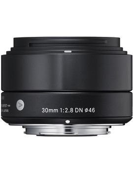 30mm F/2.8 Dn Lens For Sony E Mount Cameras (Black) by Sigma