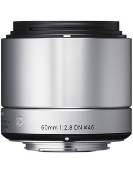 60mm F/2.8 Dn Lens For Sony E Mount Cameras (Silver) by Sigma