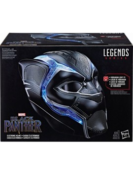 Marvel Legends Series Black Panther Electronic Helmet   Black by Hasbro