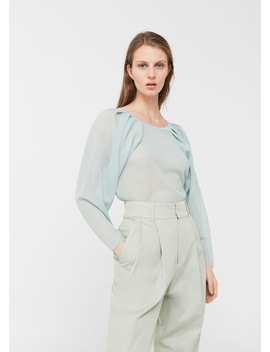 Pull Over Motif Maille by Mango