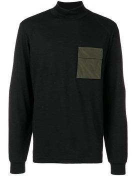 Oamccontrast Patch Turtle Neck Sweater Home Uomo Oamc Abbigliamento Maglioni by Oamc