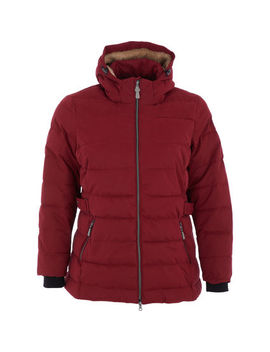 Burgundy Padded Jacket by C & A