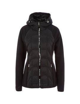 Black Padded Jacket by Michael Kors